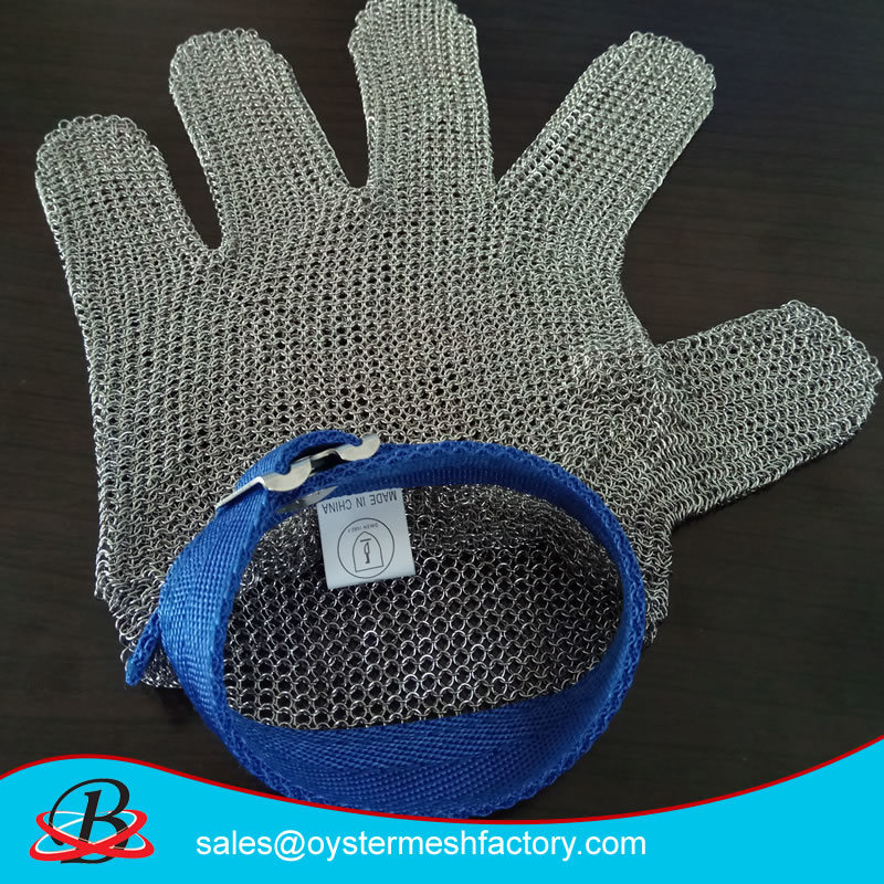 Anti Cutting Defense Stainless Steel Mesh Gloves