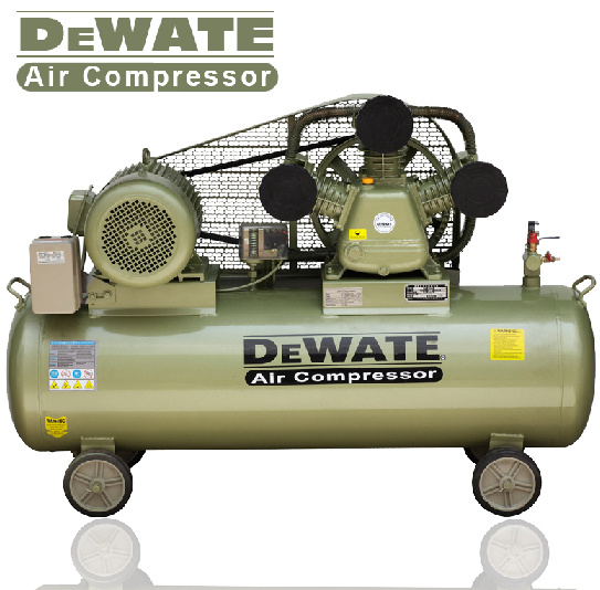 Belt Driven Piston Air Compressor 0.75kw-15kw with CE Approval