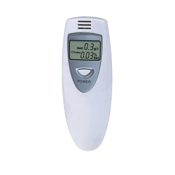 LCD Display Breathalyzer Alcohol Tester with Mounthpiece (MTAT06)