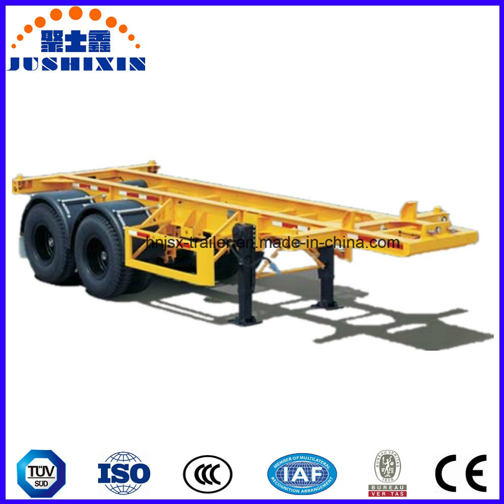2/3 Axle 40feet Skeleton/Skeletal Container/Utility Cargo Truck Tractor Semi Trailer