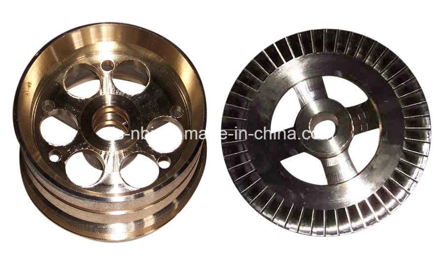 Yellow Zinc Chromate Machined (machining) Part for Machinery Equipment