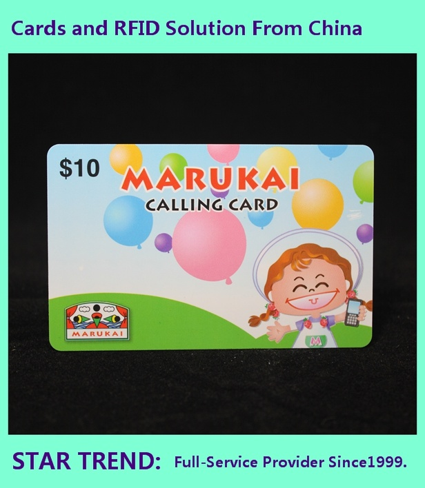 Plastic Gift Card in Credit Card Size with Perfect Printing