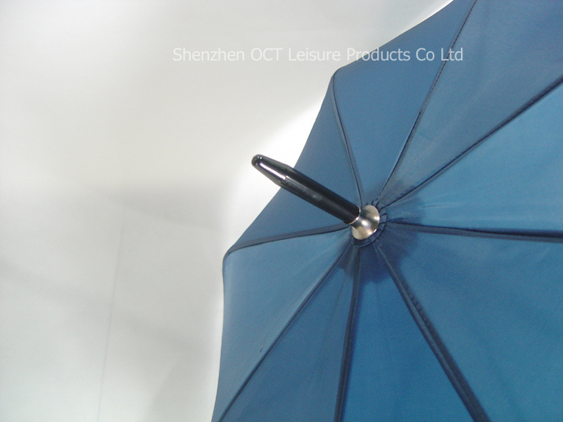 Tough Promotional Straight Umbrella with Alu&Rubber Handle (OCT-YF027)
