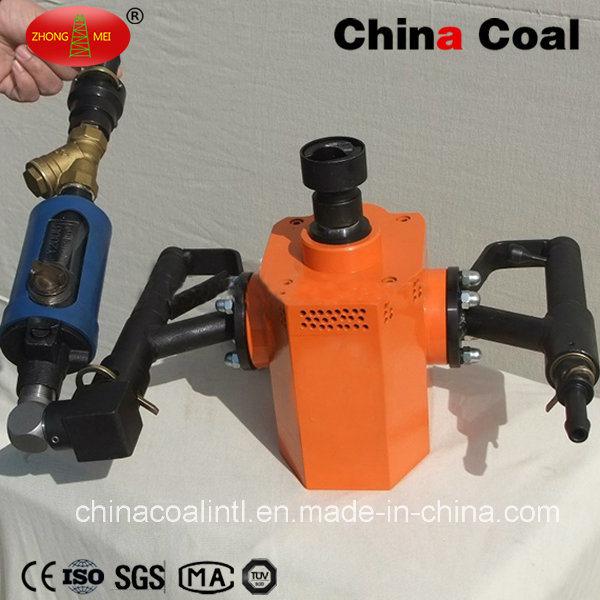 Zqs-35/1.6s Hand Held Pneumatic Jumbolter, Pneumatic Handheld Driller