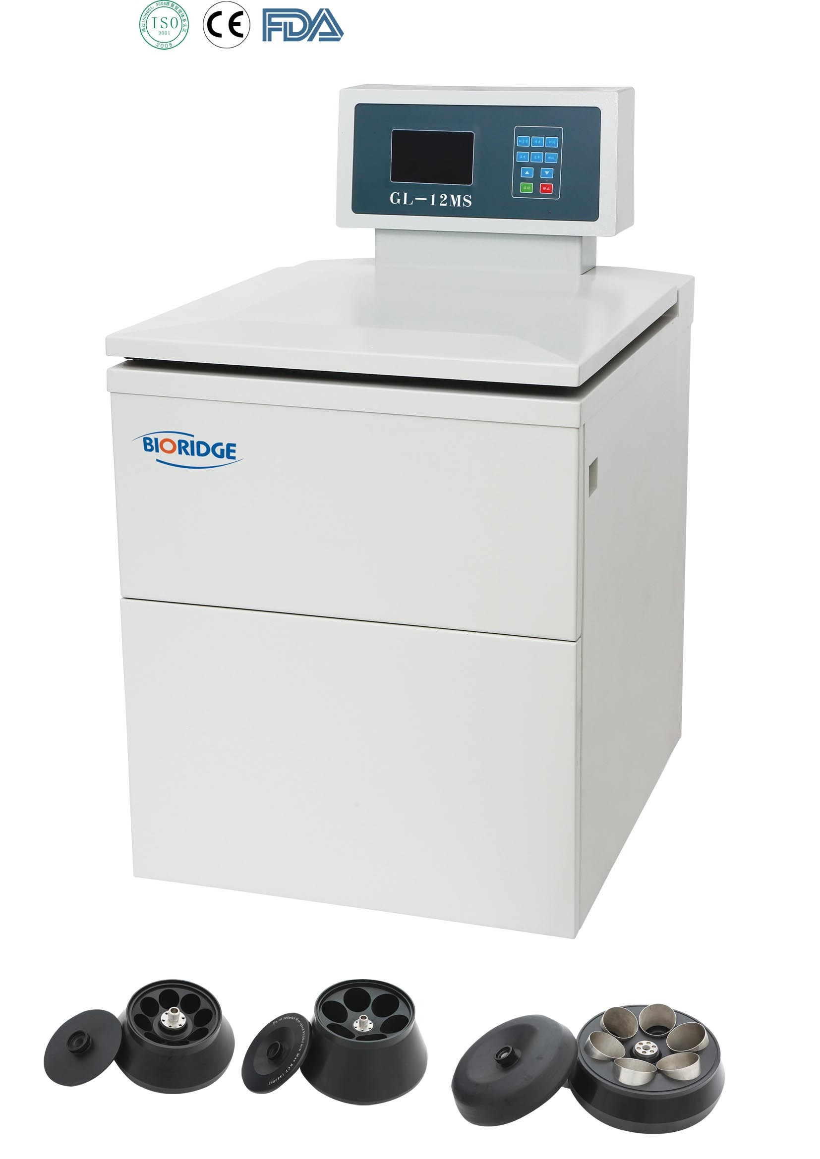 Floor-Standing High Speed Refrigerated Centrifuge (GL-12MS/GL-12M)