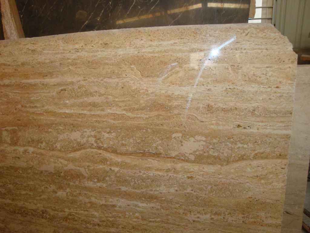 Losas amarillentas del m rmol del travertino losas for Densidad del marmol