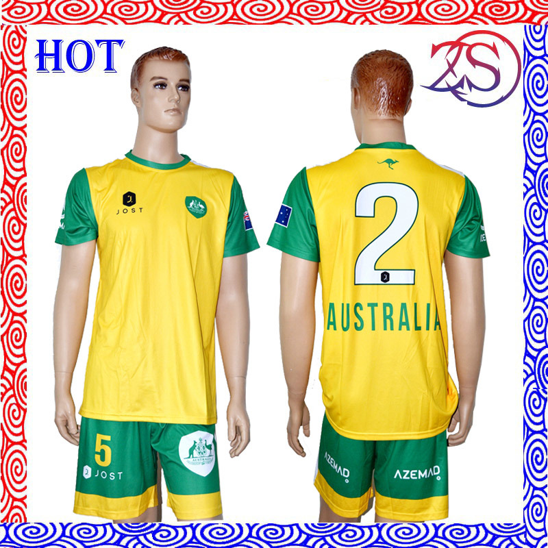 Wholesale High Quality Custom Made Kids Soccer Jersey Football Shirt