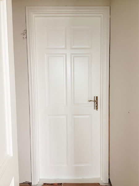 Ritz High Glossy Solid White Modern Interior Doors