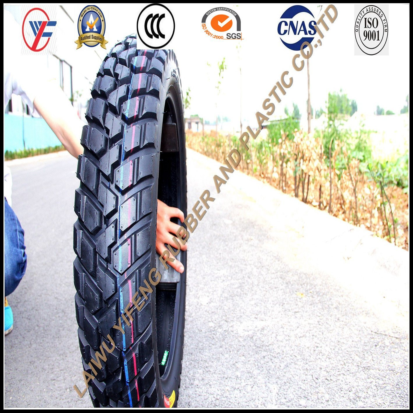 110/90-16, off Road, Motorcycle Tubeless Tire