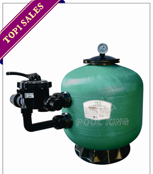 Plastic Tank with Fiberglass Sidemount Sand Filter for Swimming Pool