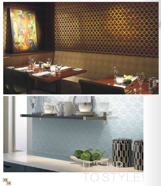 Glass Mosaic Decoration Materials for Wall (DZ-12-TF)