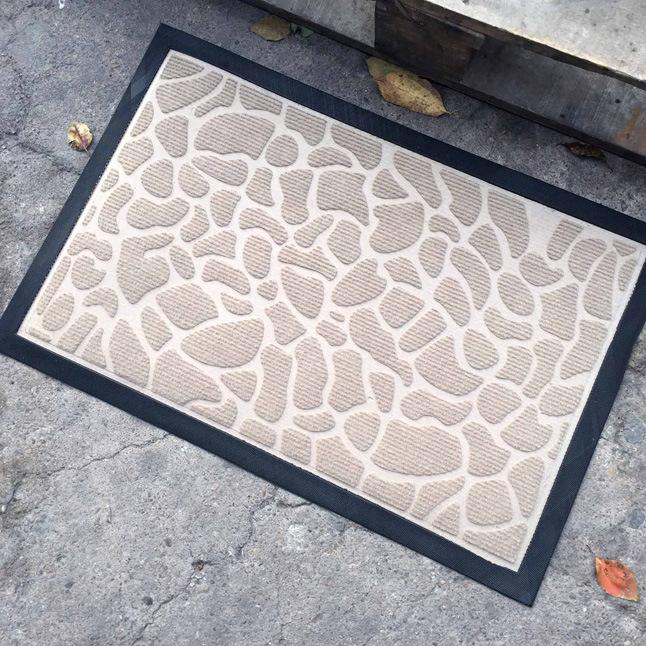 Wholesale Cheap Anti Slip Indoor Outdoor Home Welcome Entrance Entry Front Door Carpet Doormats
