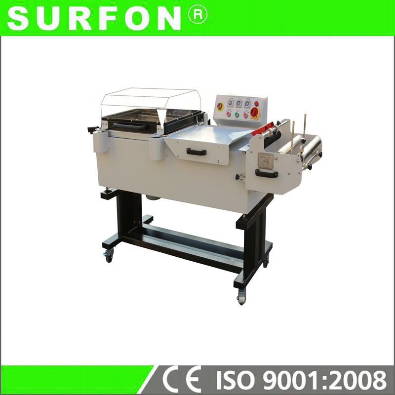 Semi Auto 2 in 1 Shrink Wrapping Machine for CD Box