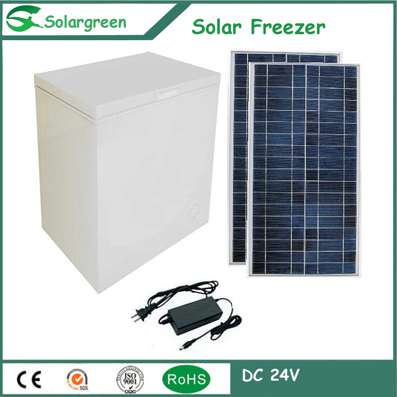 Factory Price Lowest Temp to -22c Solar Chest Refrigerator Fridge Freezer