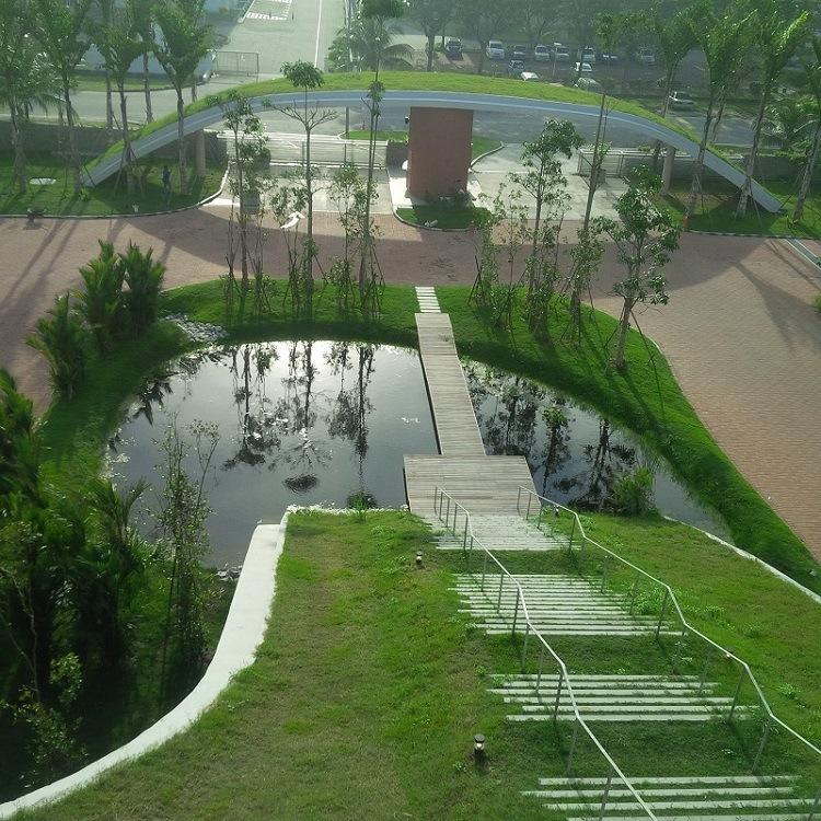 EPDM Waterproof Membrane for Artificial Landscape Pond