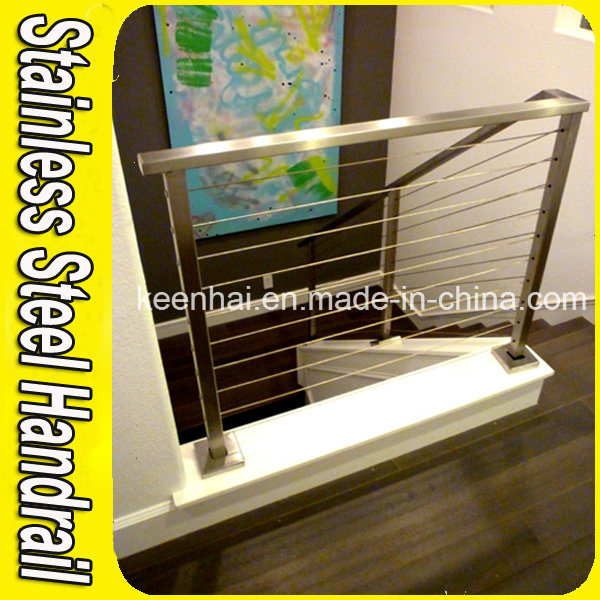 Indoor Staricase Railing System Stainless Steel Stair Railing