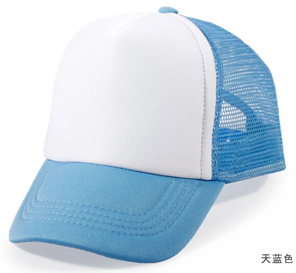 Promotional Blank Baseball Truck Cap for Custom Logo Design