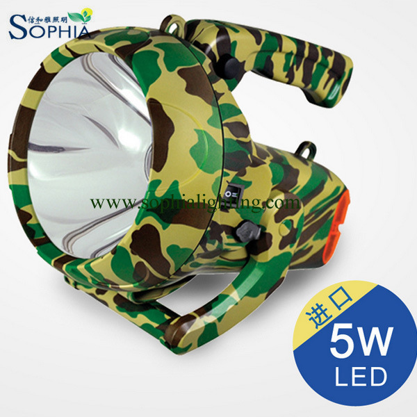 Rechargeable LED Flash Light, Search Light, Military Light, LED Torch
