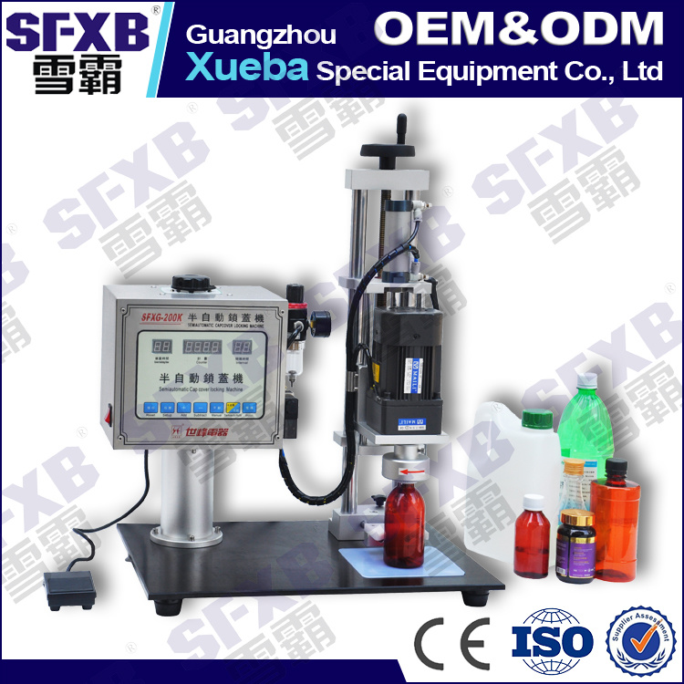 Sfxg-200 Semi Automatic Manual Bottle Capping Machine