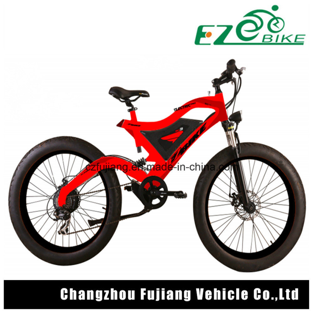 26*4.0′′ Fat Tire Electric Mountain Bike