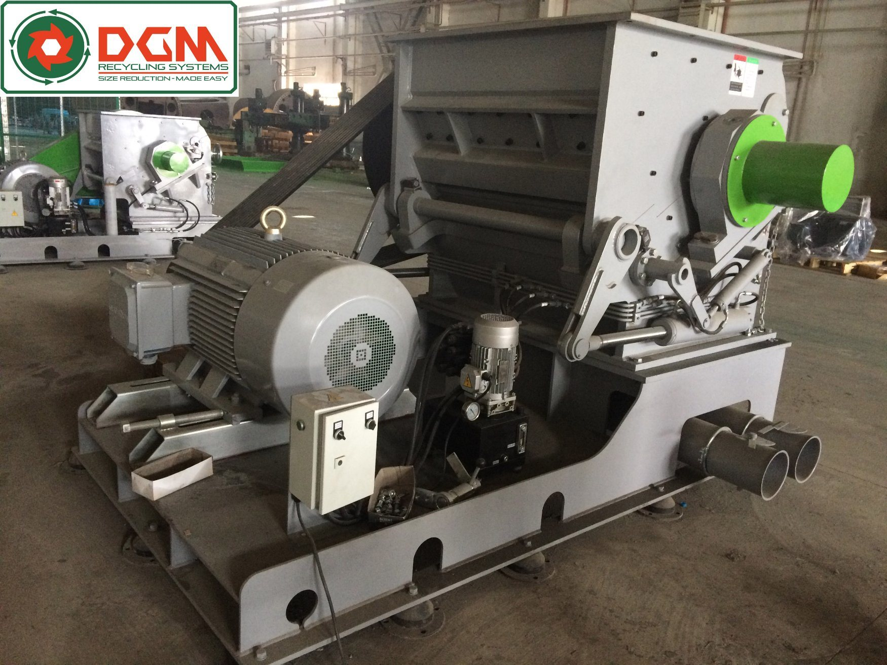 DGH600800 Heavy Duty Granulators