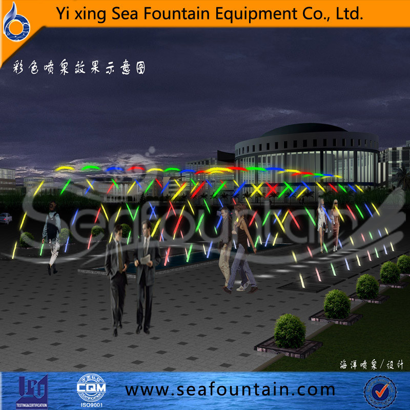 Stainless Steel Program Control Jump Jet Fountain