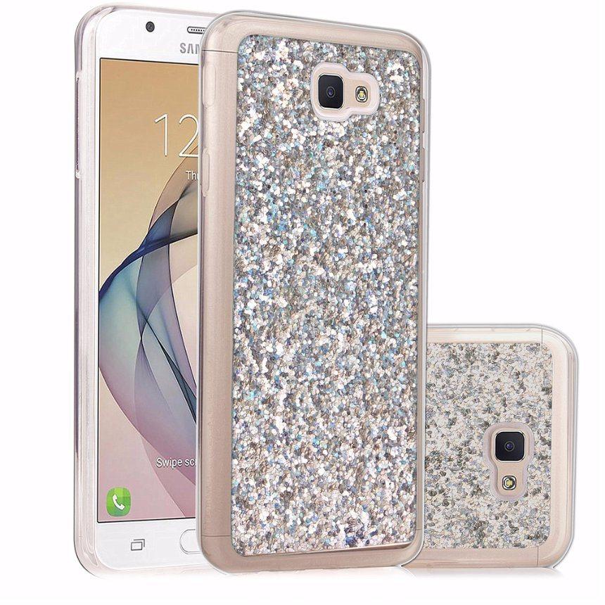 Glitter Case Cover for Samsung Galaxy J7 Prime