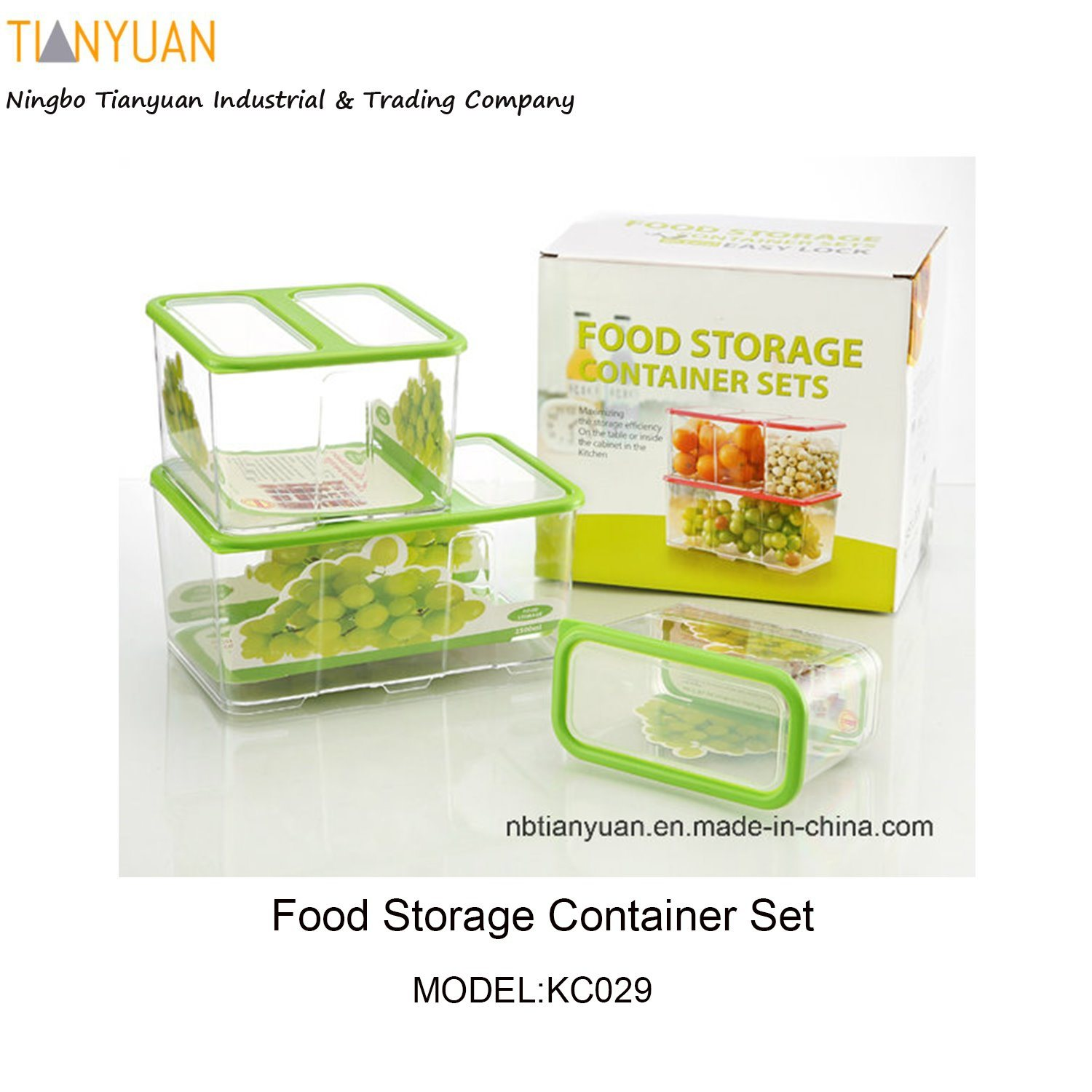 Food Storage Container Set, Food Container