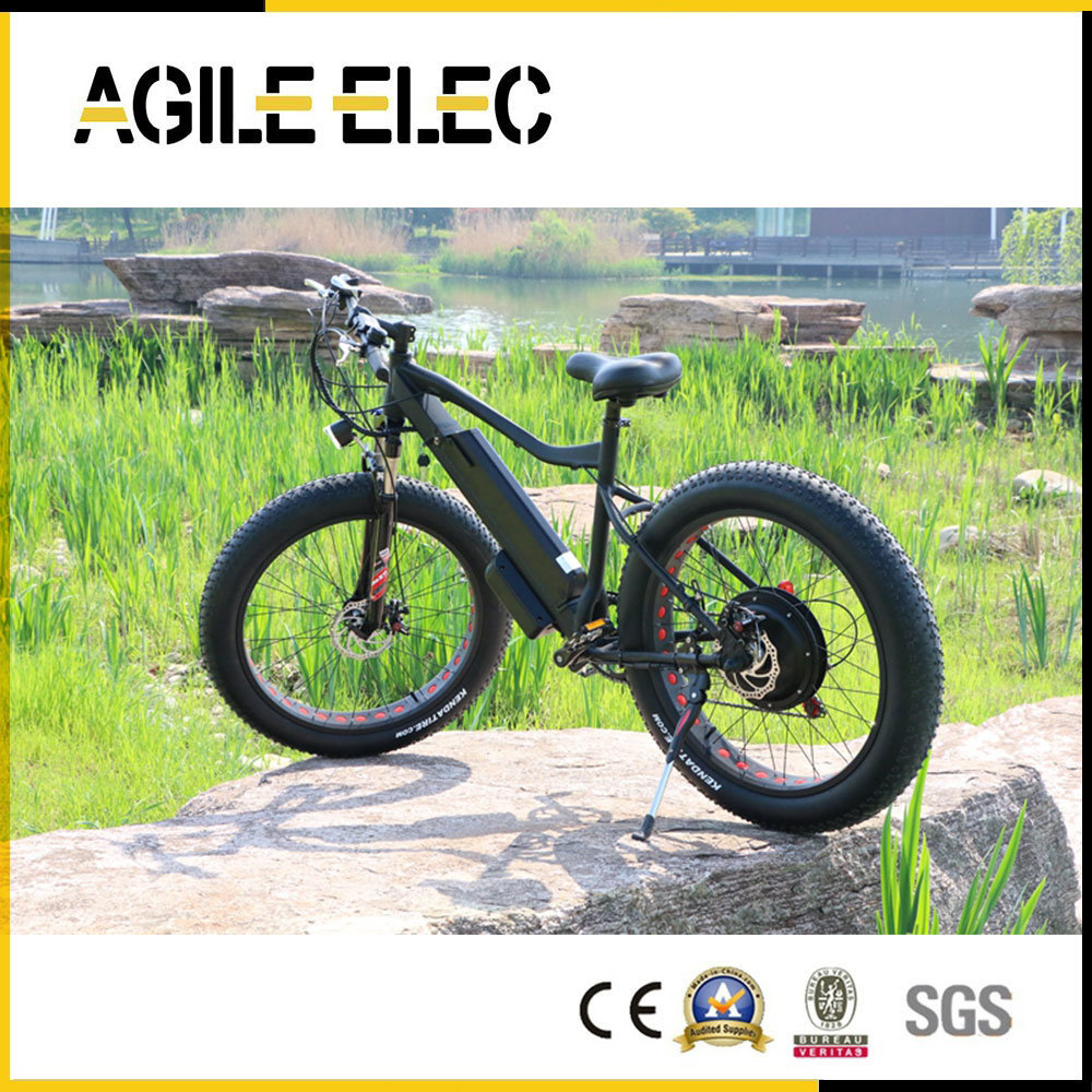 48V 500W Beach Fat Tire Electric Bike with Lithium Battery
