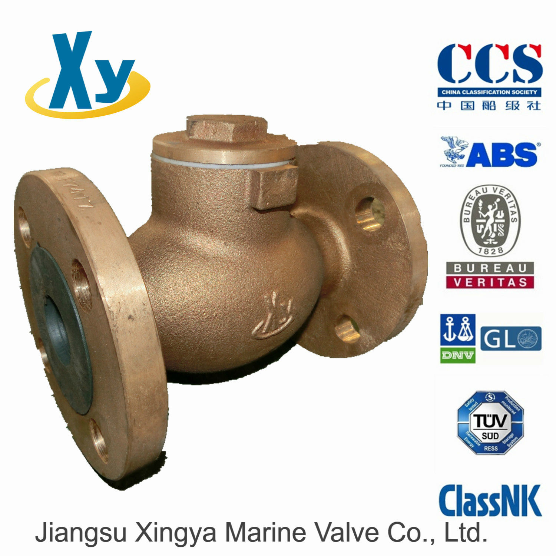 Marine Bronze Lift Check Valve JIS F7415 5k