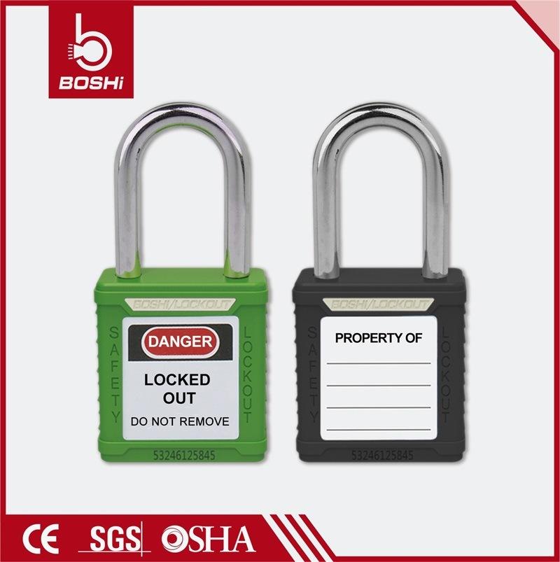 38mm Steel Shackle Standard Key System Safety Padlock (BD-G01)