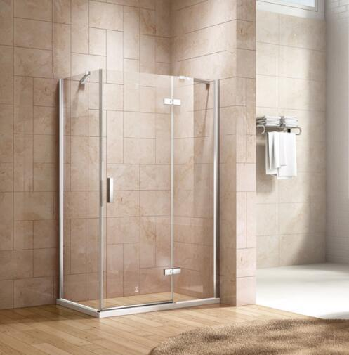 Bathroom 8mm Glass Hinge Door Shower Door Enclosure (BN-LHD120)