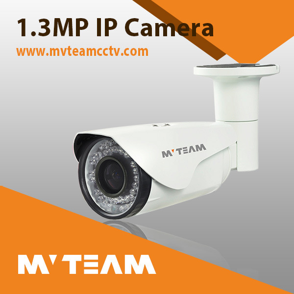 IP Camera 1.3MP H. 264 Camera Varifocal Lens Surveillance Camea