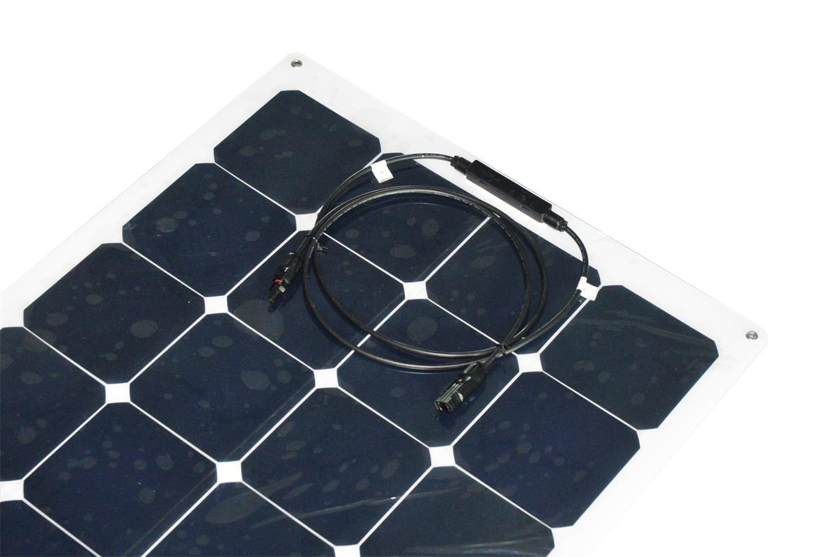 Flexible 100W Solar Panel with Sunpower Cells