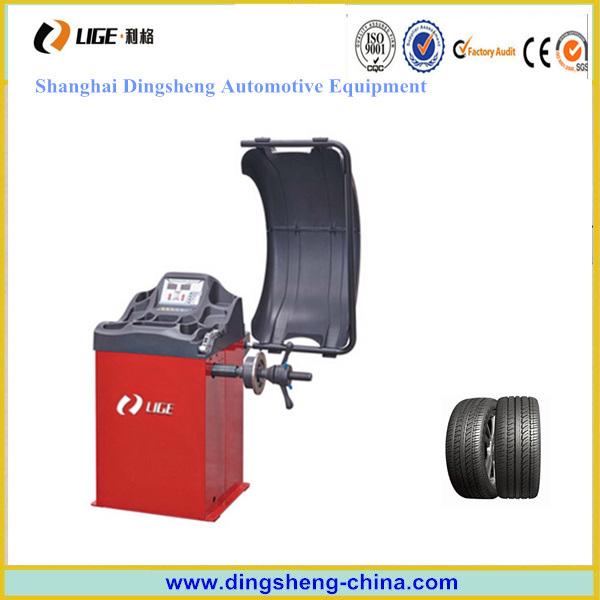 Car Workshop Balancing Machine Tire Center