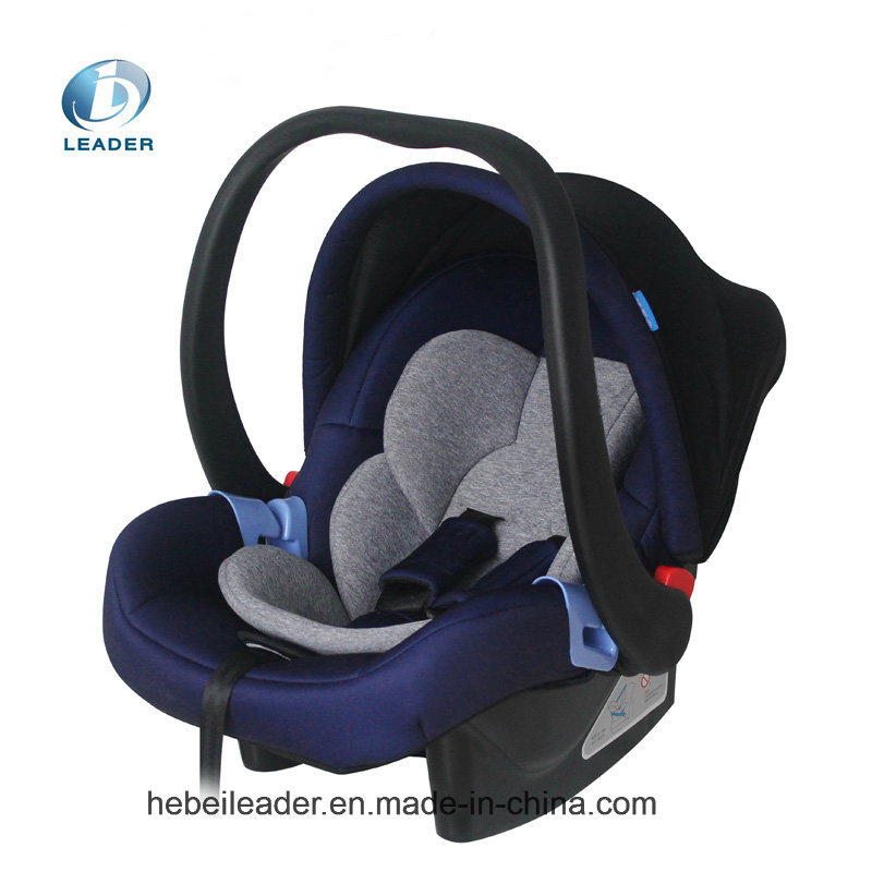 New Born Infant Baby Cot Car Seat with 5 Point Harness System for Group 0+ with ECE Certificate