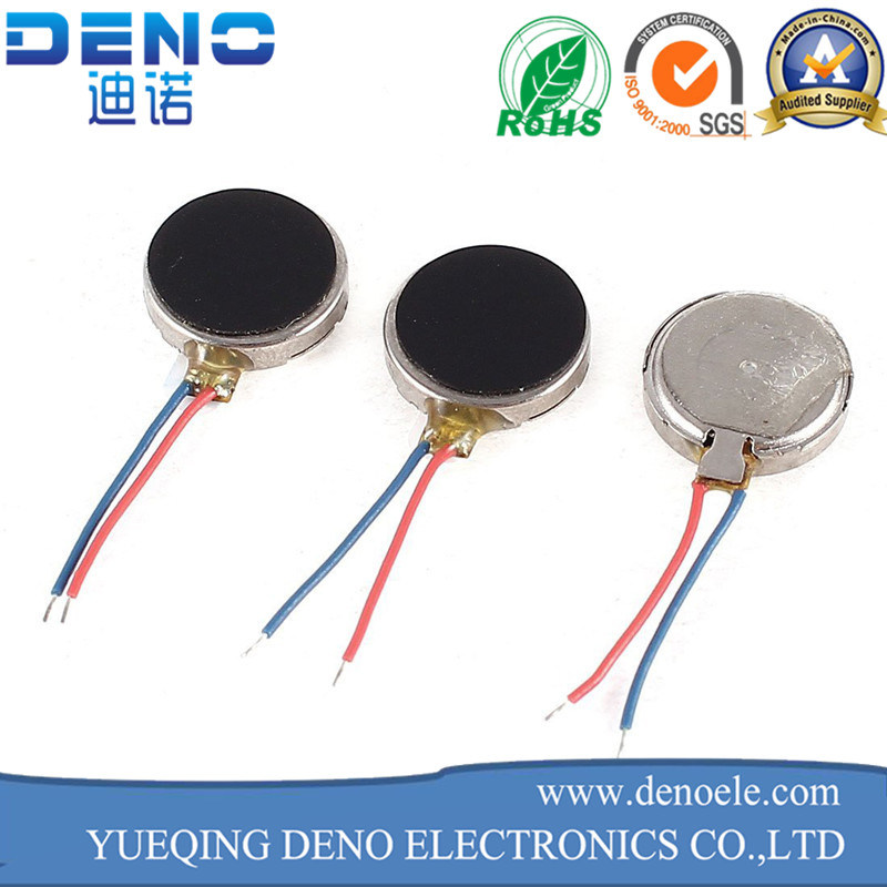 1.5V 3V Coreless and Ironless Micro DC Flat Motor for Pad Vibrating
