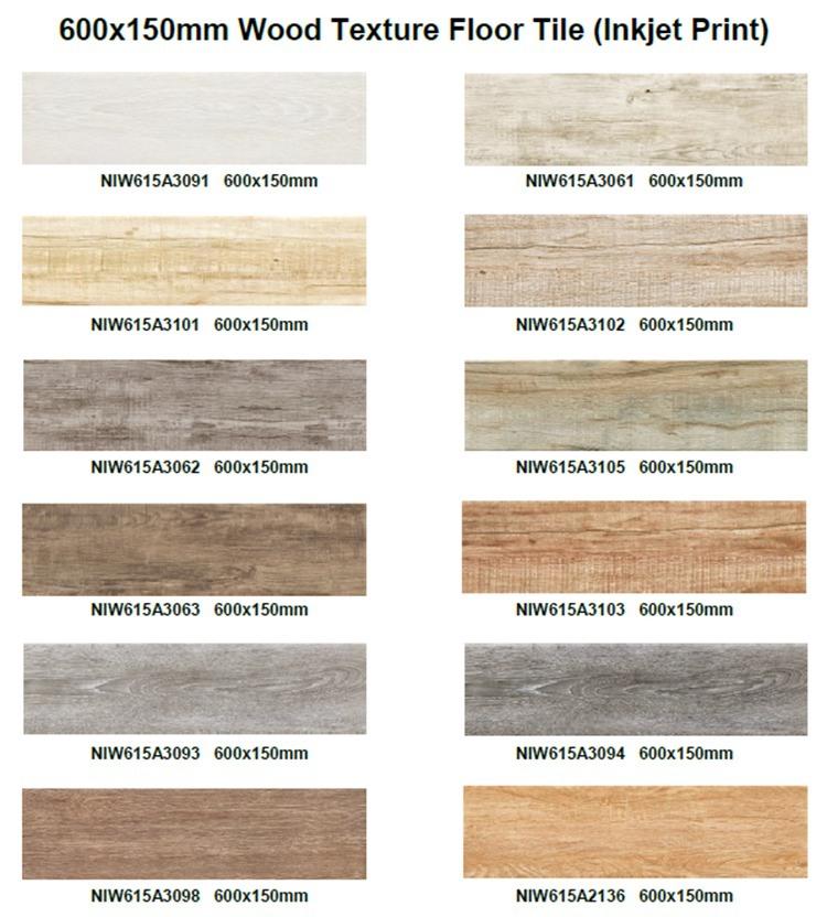 Caribben Wood Brown Look Stairs Floor Tile