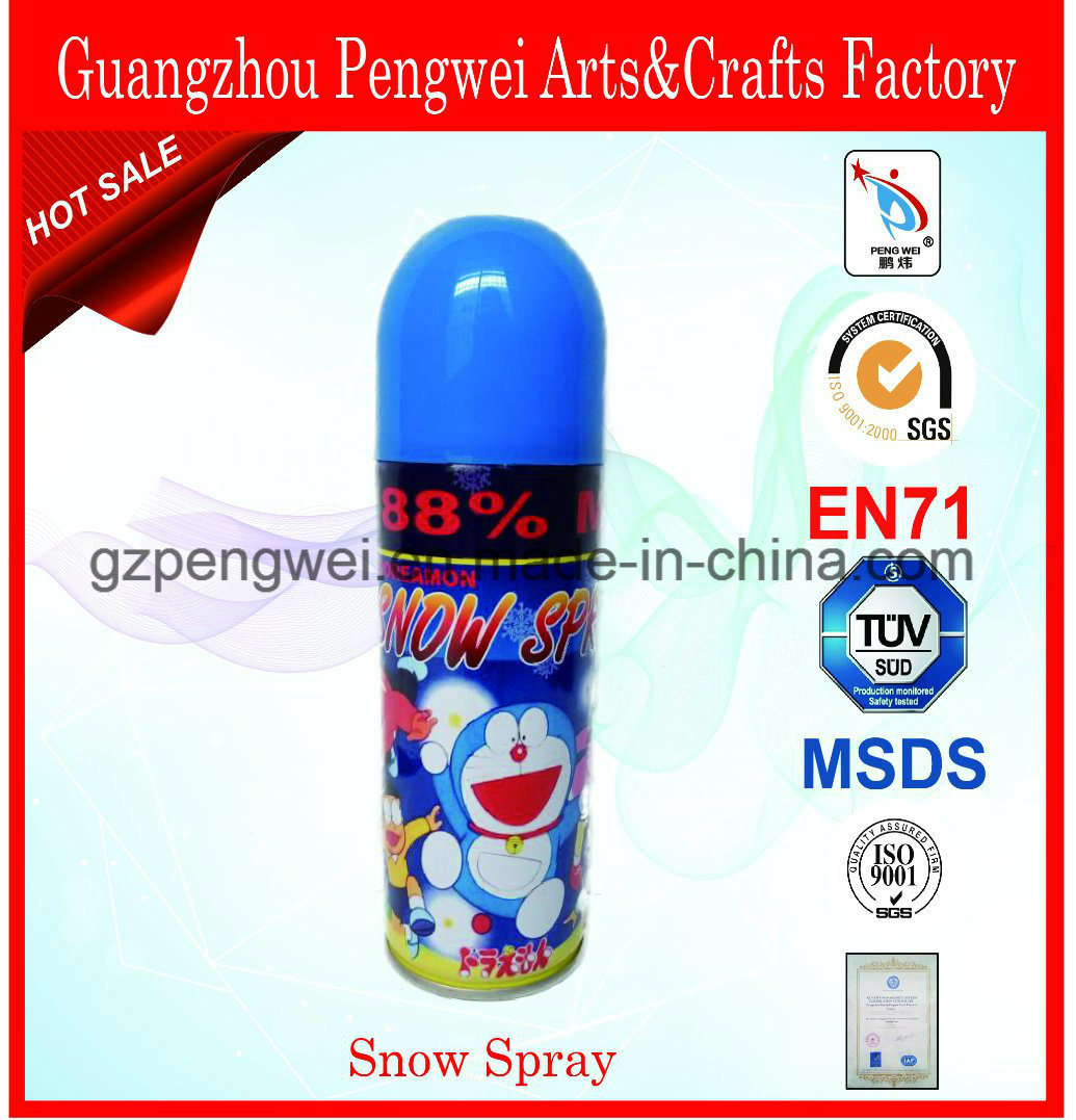 Magic Aerosol Snow Spray for Festival Decoration