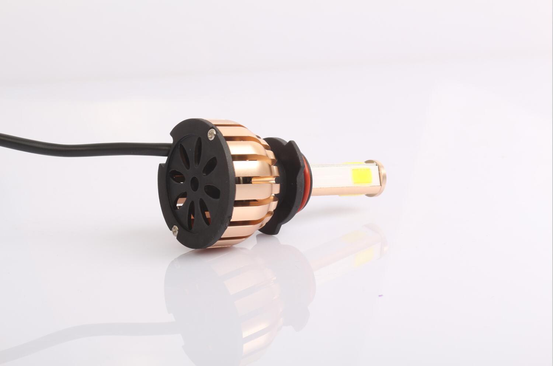 5s Automotive LED Headlight Fanless High Lumen Car H4 LED Headlight