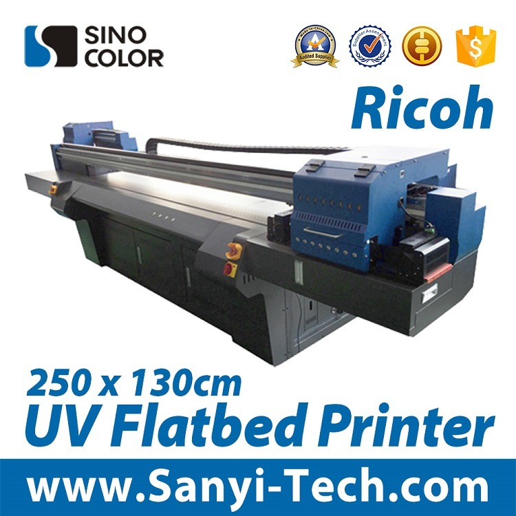 High Quality Digital Large Format Printer UV Flatbed Printer Fb-2513r