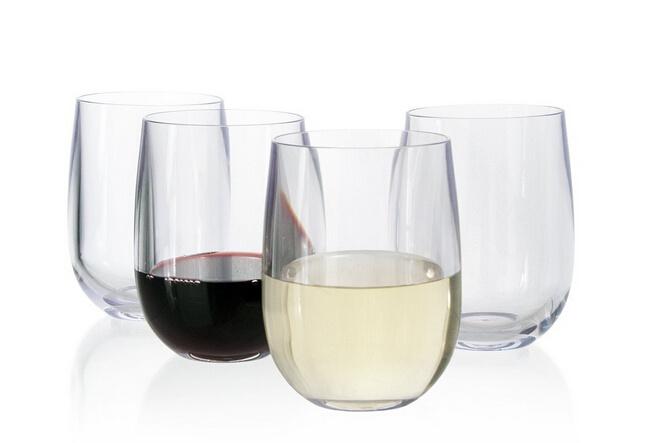 Elegant Plastic Wine Gles Interior Design Decorating Ideas
