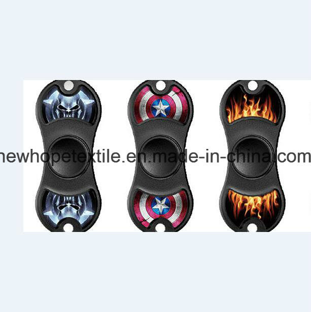 2 Leaf Printed Fidget Spinner Custom Print Promotional Customized Logo New Wholesale Plain Solid Color Premium ABS Spinners