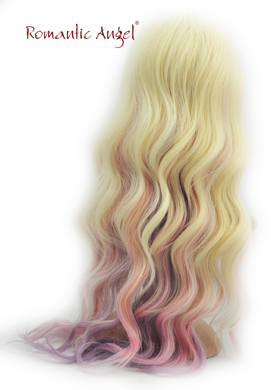 Halloween Wig Synthetic Courlful Fashion Women Wig