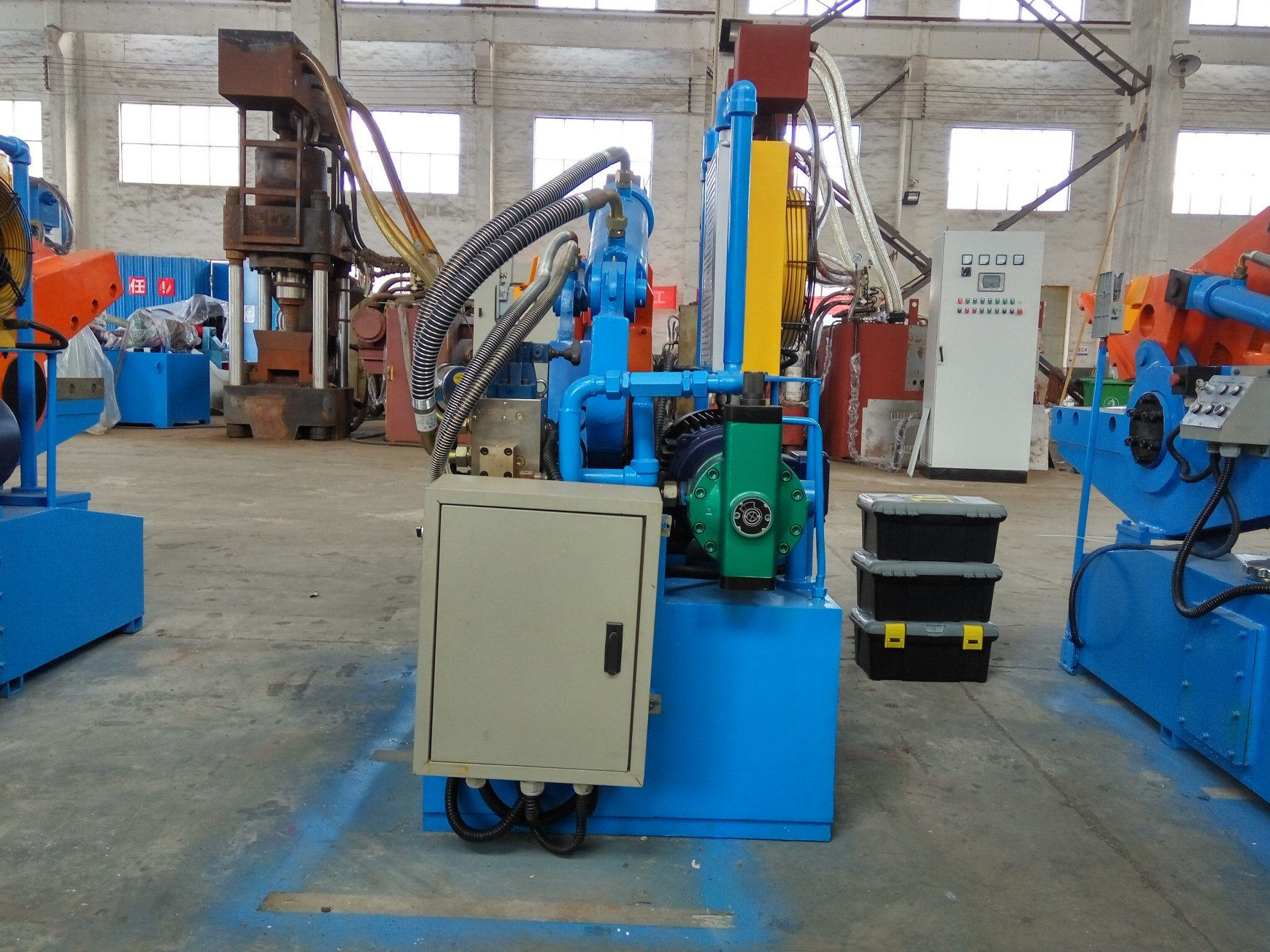 Crocodile Machine for Metal Scrap Steel Aluminum Shear Machine-- (Q08-63)