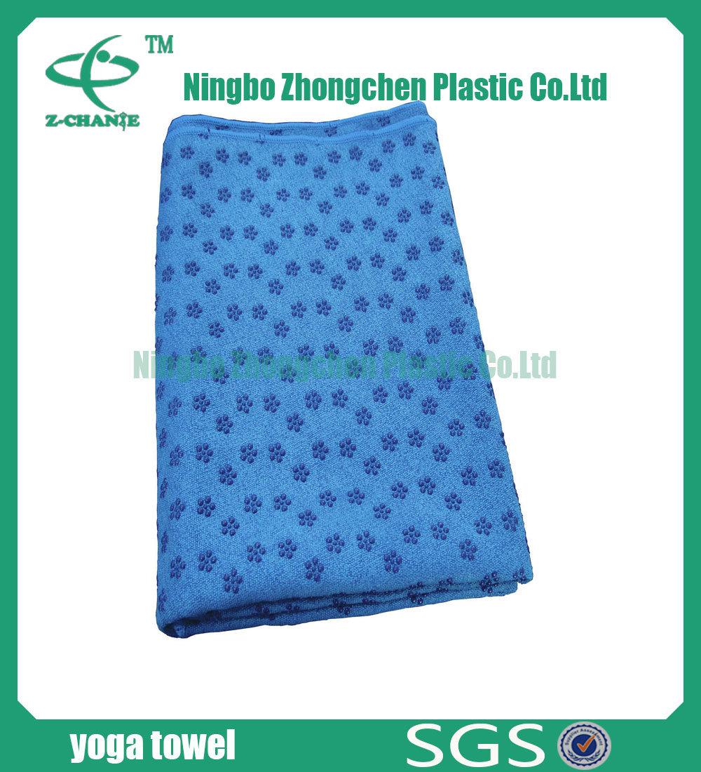 Colorful Yoga Towel Microfiber Anti-Slip Yoga Towel