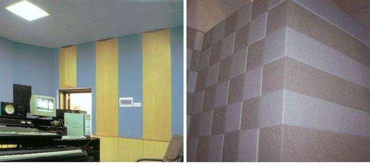 Decorative Interior Fiber Wall Panels