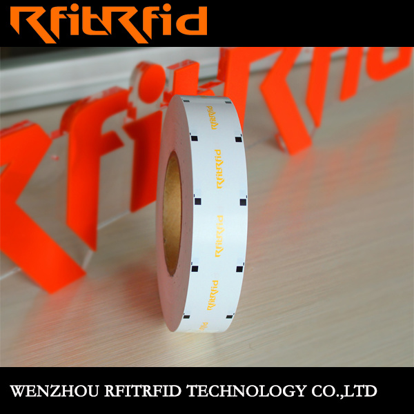 UHF Aluminum Etching Prevent Tamper RFID Tag/Smart Label/Sticker