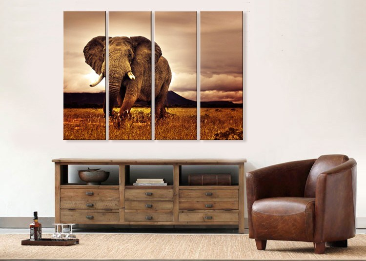 Customized Wood Framed Cotton/Polyester /Linen/Canvas Printing, Follow Canvas Prints