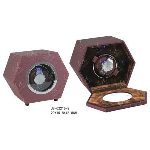 Handmade Packaging Box Watch Showcase Leather Watch Winder